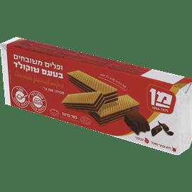 ופלים מן בטעם שוקולד