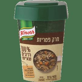 מרק פטריות רכיבים טבעיים