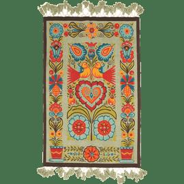 שטיח כותנה מודפס סלדין