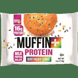 מאפין חלבון עוגת יומולדת