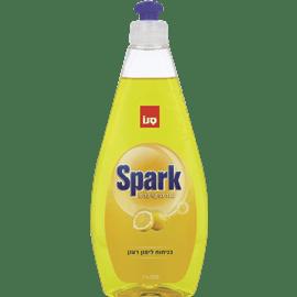 ספארק נוזל כלים לימון