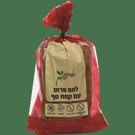 לחם עם קמח טף טבעוני