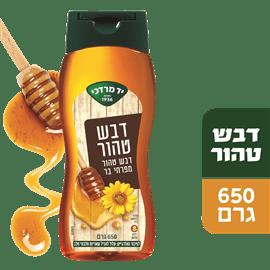 דבש לחיץ מפרחי בר