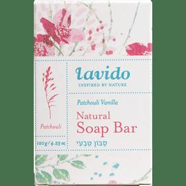 סבון טבעי פטשולי וניל