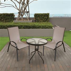 סט שולחן+2 כסאות