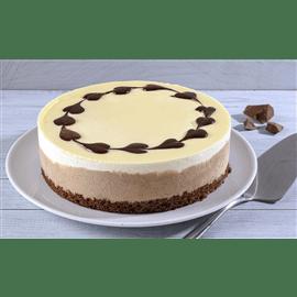עוגת מוס שני שוקולדים