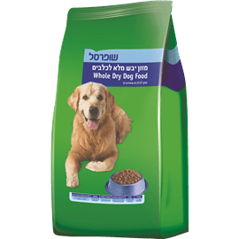 מזון יבש מלא לכלבים
