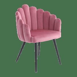כסא מעוצב פרח