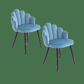 זוג כסאות מעוצבים דייזי