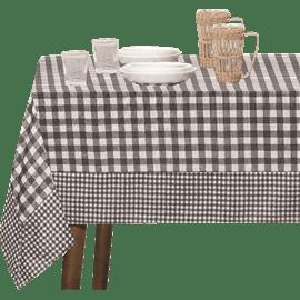 מפת שולחן משובצת