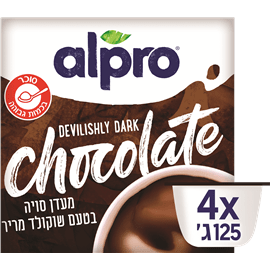 אלפרו מעדן סויה ט.שוקולד