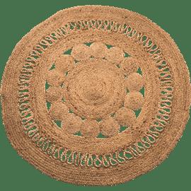 שטיח יוטה עגול