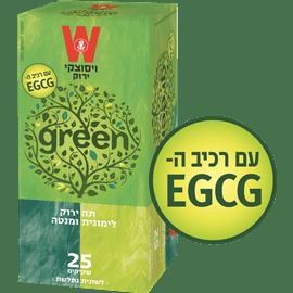 תה ירוק לימונית מנטה
