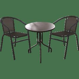 סט ישיבה בליני שחור