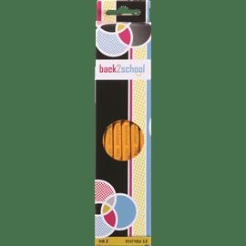 12 עפרונות עם מחק