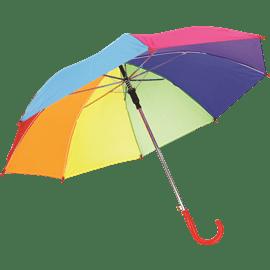 מטריה צבעי הקשת