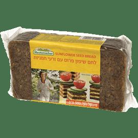 לחם שיפון+זרעי חמניות