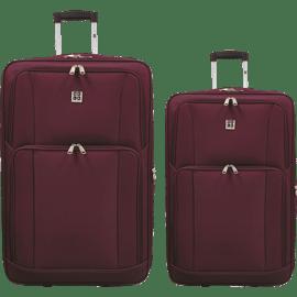 זוג מזוודות שחור