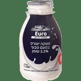 משקה יוגורט טעם טבעי3.2%