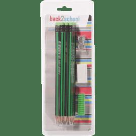 12 עפרונות+מחדד