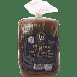 לחם בריא קמח מלא+גרנולה