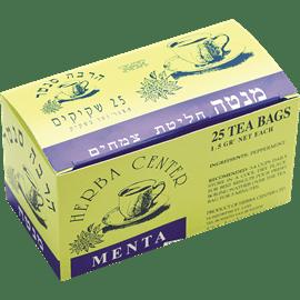 תה צמחים מנטה