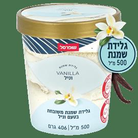 גלידת שמנת בטעם וניל