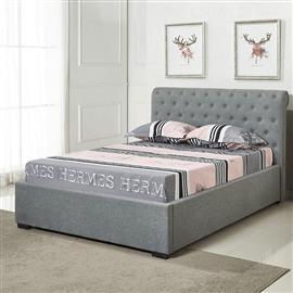 מיטה זוגית מרופדת + ארגז