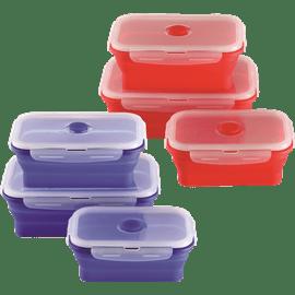 סט3קופסאות אחסון סיליקון