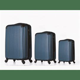 סט 3 מזוודות ABS MADRID