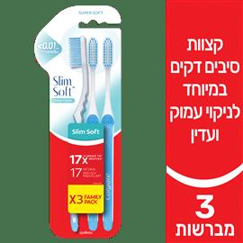 מברשת שיניים סלים סופט מ