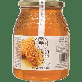 דבש טהור מגובש מפרחי הדר