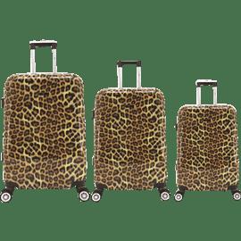 סט 3 מזוודות PCPARIS