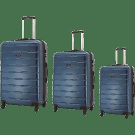סט 3 מזוודות ABS ROMO