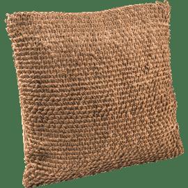 כרית נוי יוטה לולאות