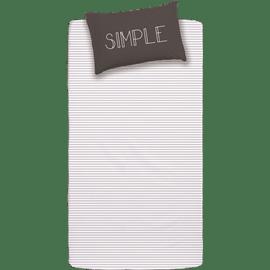סדין+ציפית Simple