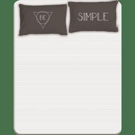 סדין+זוג ציפיות Simple