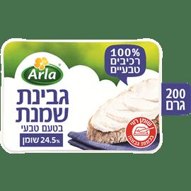 ארלה גבינת שמנת טעם טבעי