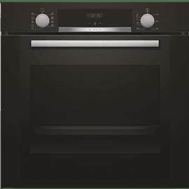 תנור בנוי שחור
