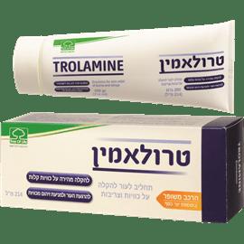 טרולאמין לטיפול בכוויות