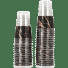 כוס גרניט ברונזה שחור