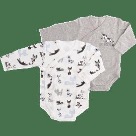 זוג בגד גוף חתול0-3