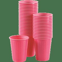 כוס דו צבעי ורוד פוקסיה