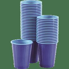 כוס דו צבעי כחול תכלת