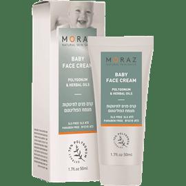 קרם פנים לתינוק