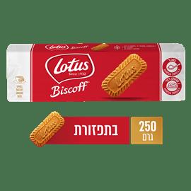 ביסקוויט לוטוס טעם קרמל