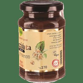ממרח אגוזי לוז טבעוני