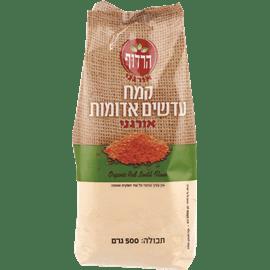 קמח עדשים אדומות אורגני
