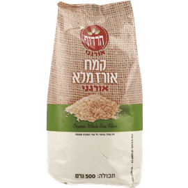 קמח אורז מלא ארוך אורגני