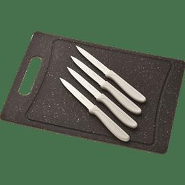 מארז סכיני קילוף+קרש